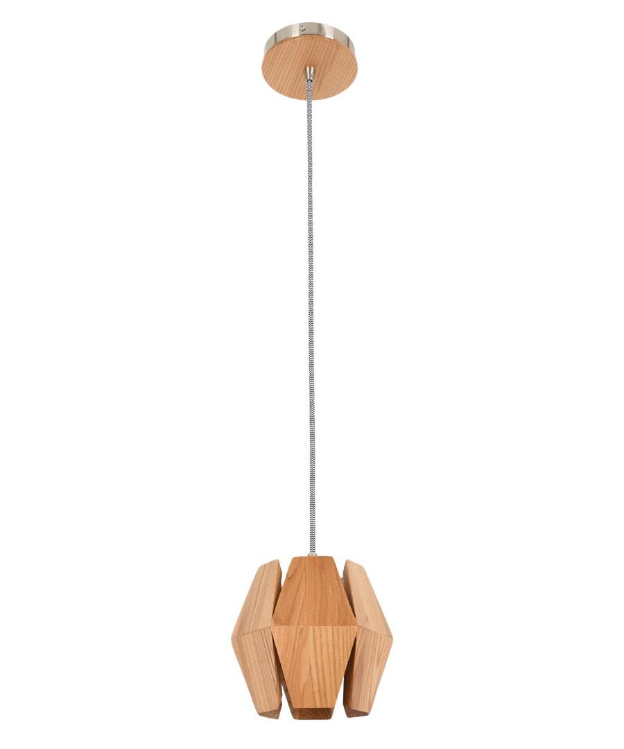 Ragnar Small Pendant - Ash Timber - $189