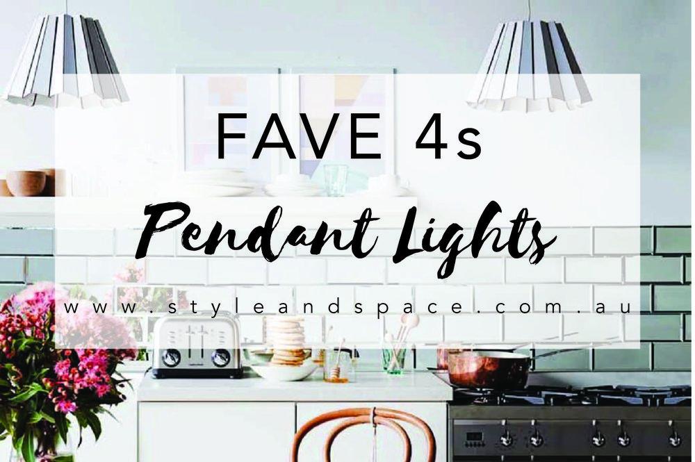 Styleandspace Fave4 Pendants