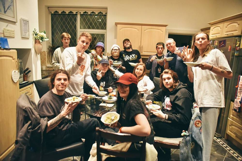 Tour Family. Taken in the Dixon household, by Nick Suchak, featuring Milk Teeth, Eat Me and my wee face.