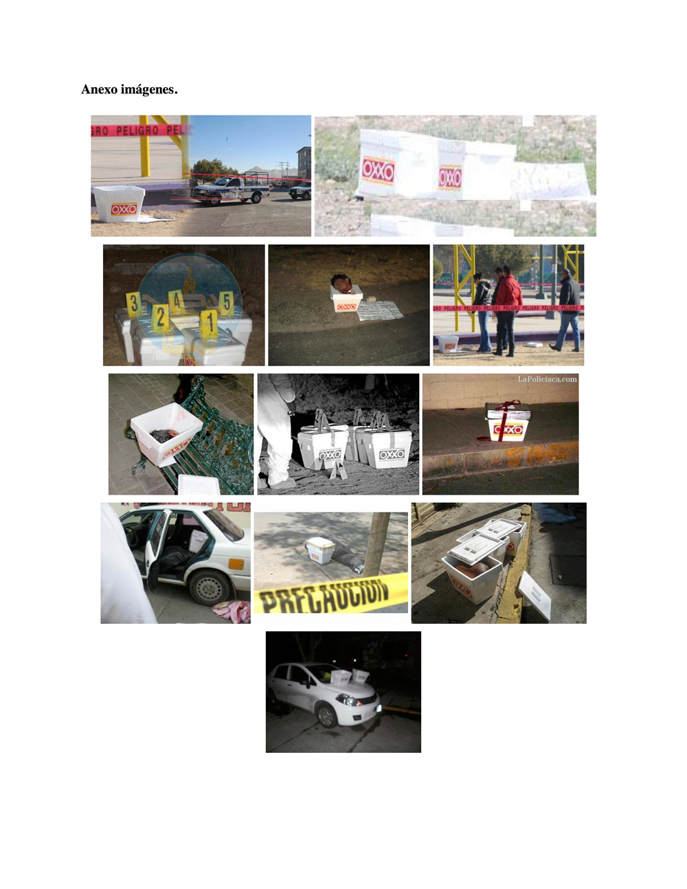 Caja Oxxo (Profanación) , Alejandro Luperca, PDF, 7 págs., 2012.