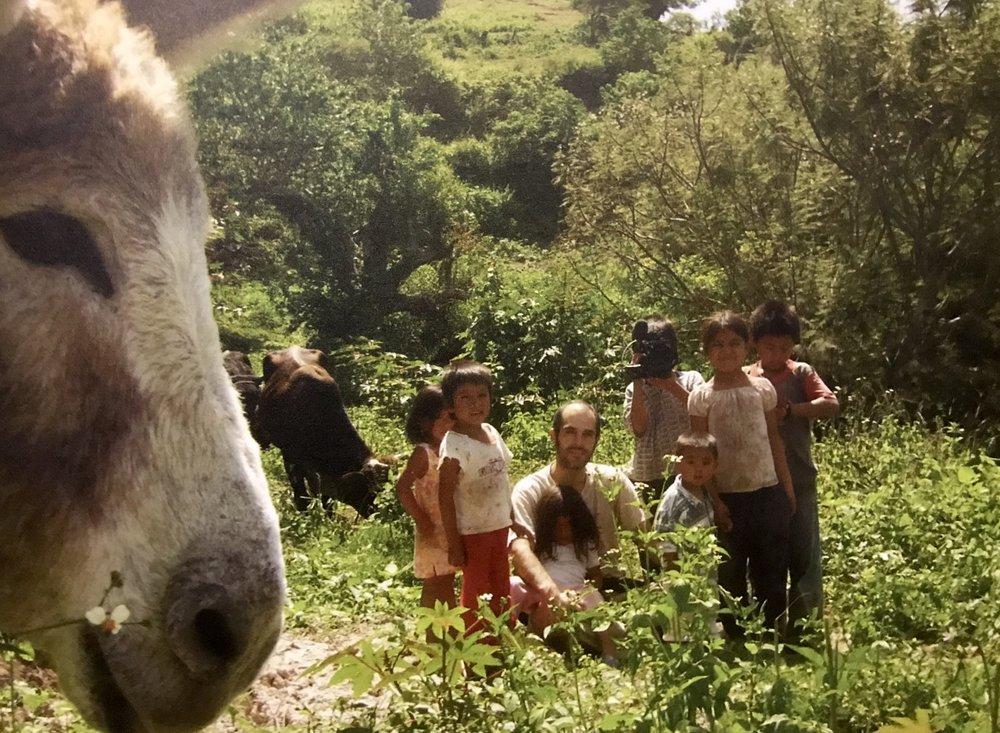 Fotografía de Camille Tauss durante la filmación de  Los herederos  (2008) .