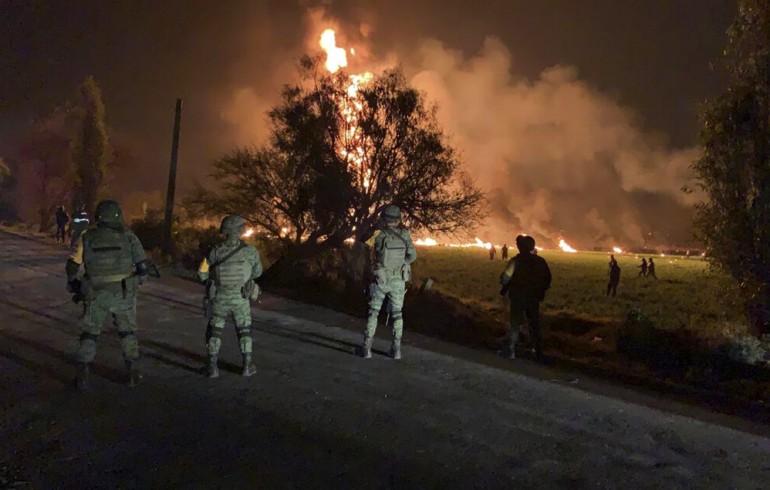 Imágenes de la tragedia reciente en Tlahuelilpa, Hidalgo