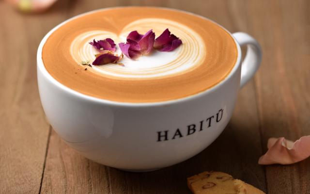 Caffe Habitu's CaffèRosa. Image source.