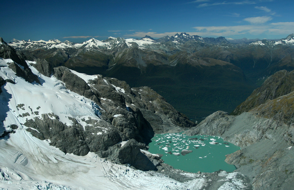 Lake on Donne Glacier | Reid Burchell Photography