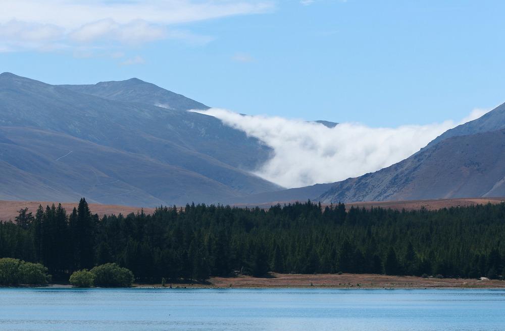 Tekapo Lake Mountain Valley | Reid Burchell Photography