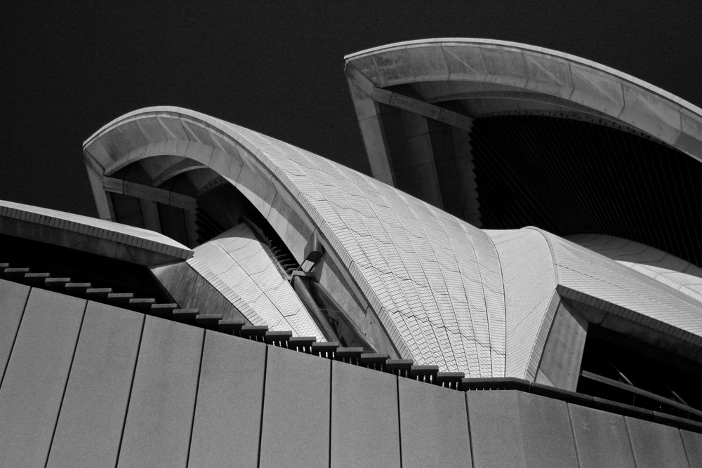 Sydney Opera House Architecture | Reid Burchell Photography