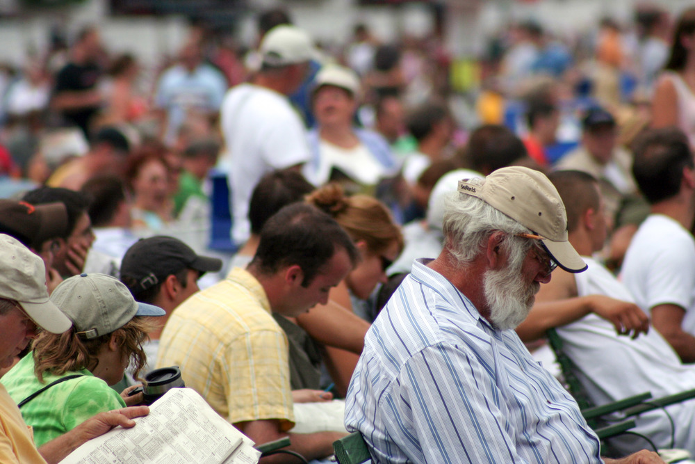 Saratoga Race Course People | Reid Burchell Photography