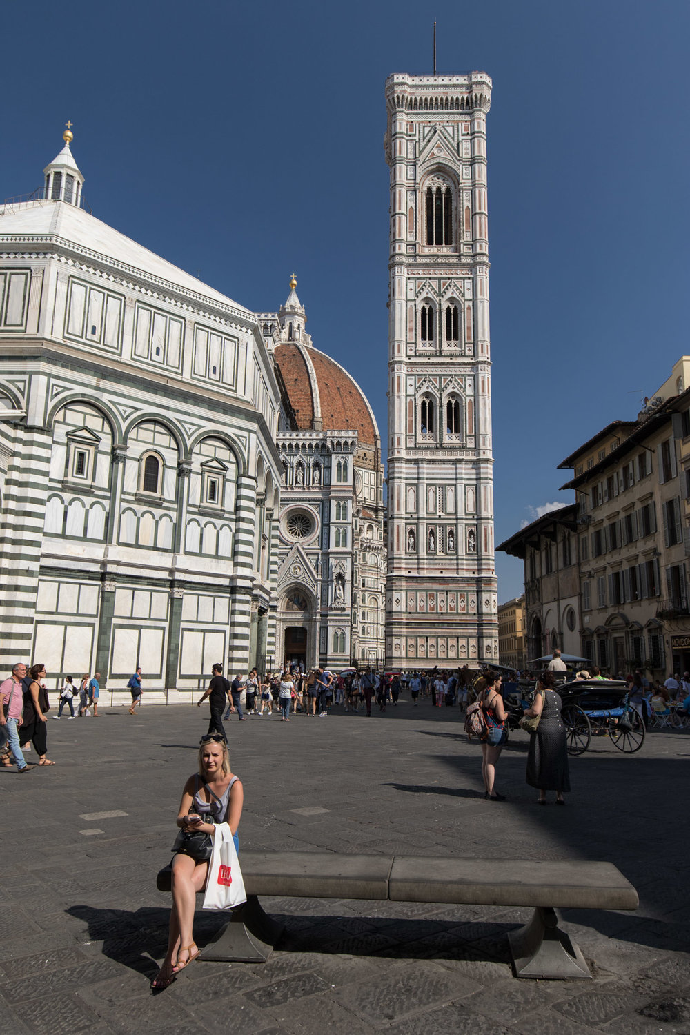 Exterior of the Florence Cathedral
