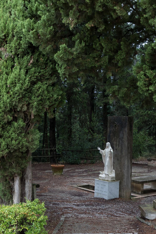 Abbazia di Monte Oliveto Maggiore, Tuscany, Italy | Reid Burchell Photography