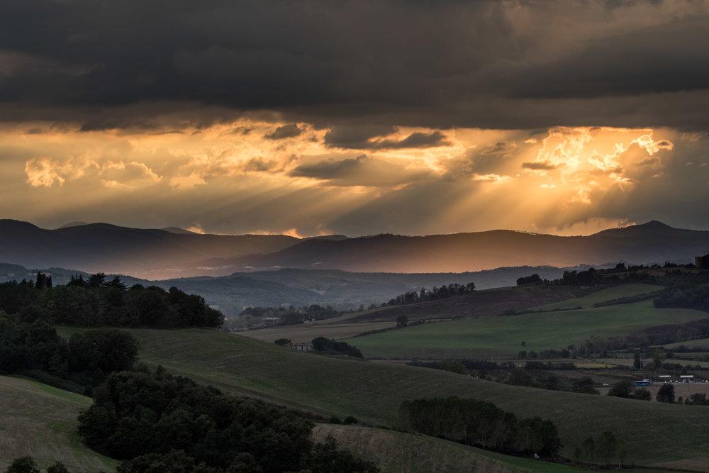 Un Segno dal di Sopra, Tuscany, Italy | Reid Burchell Photography