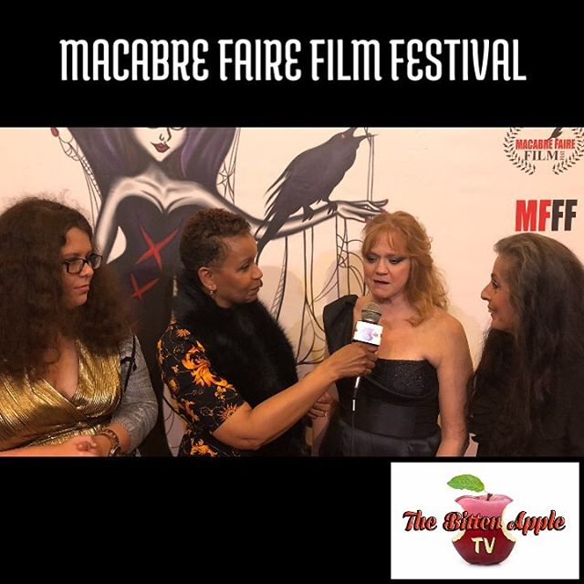 Working the #redcarpet for the #queen of #horror #mfff #2018 #actorslife #fun #screams & #dreams #muah to you all I'm #proud to #work with #creative #wonderful individuals exploring #creating #comedy #movies #scarymovie #drama & #celebrating each other & the #art of #creation
