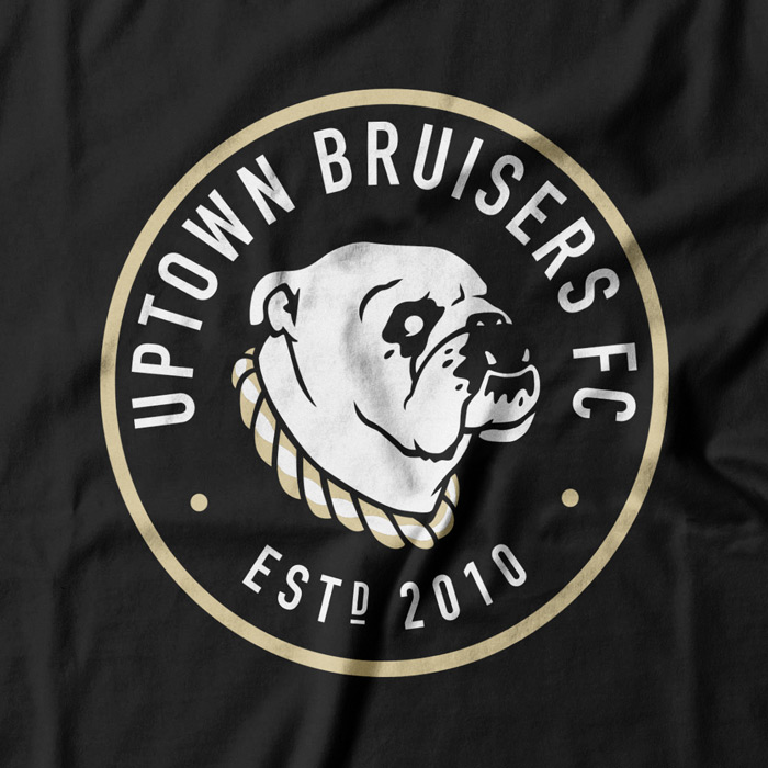 Tshirt / Logo for the Uptown Bruisers Football Club