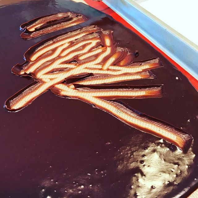 Ganache for days. - K8Monster #campcake @yolanda_gampp