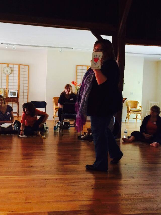 beth teaching tarot at redding meditation.jpg