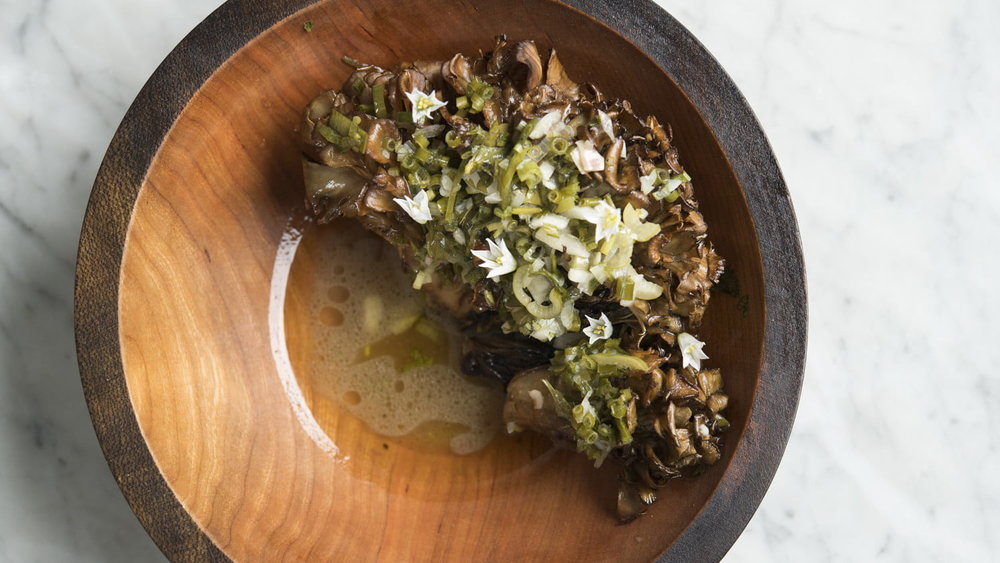Sunday in Brooklyn Wood Roasted Maitake Mushroom