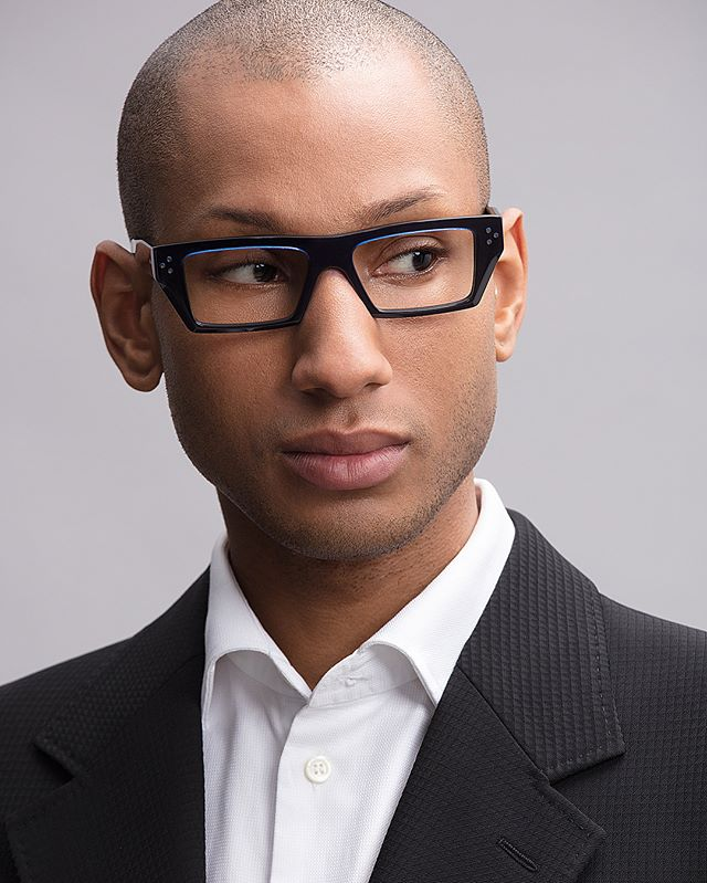 Marcus for Cutler & Gross, shot by Bernie Shoots😎👌🏾 #cmodelmanagement #cmodelmgmt #malemodel #campaignshoot #glasses #style #suited www.cmodelmgmt.com/m-st-cyr