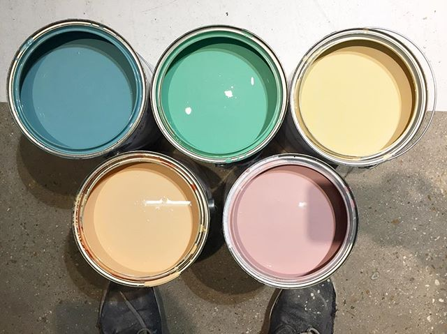 Got the good shit this time! #newcolors . . . . . . #color #sherwinwilliams #design #paint #designlife #furniture #furnituredesign