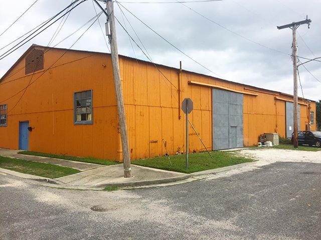 Of course my new studio is orange! 😀 . . . . . . #nola #followyournola #goodthingsarecoming