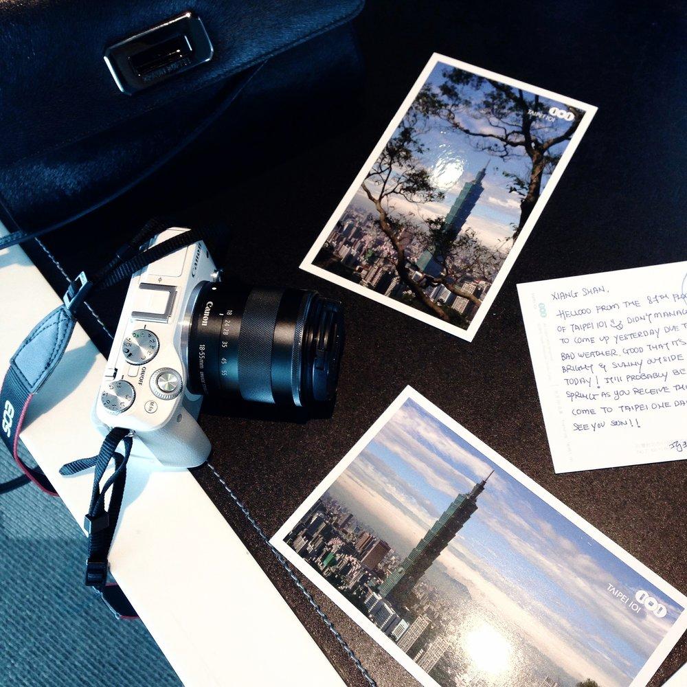 Send a Postcard寄張明信片 -