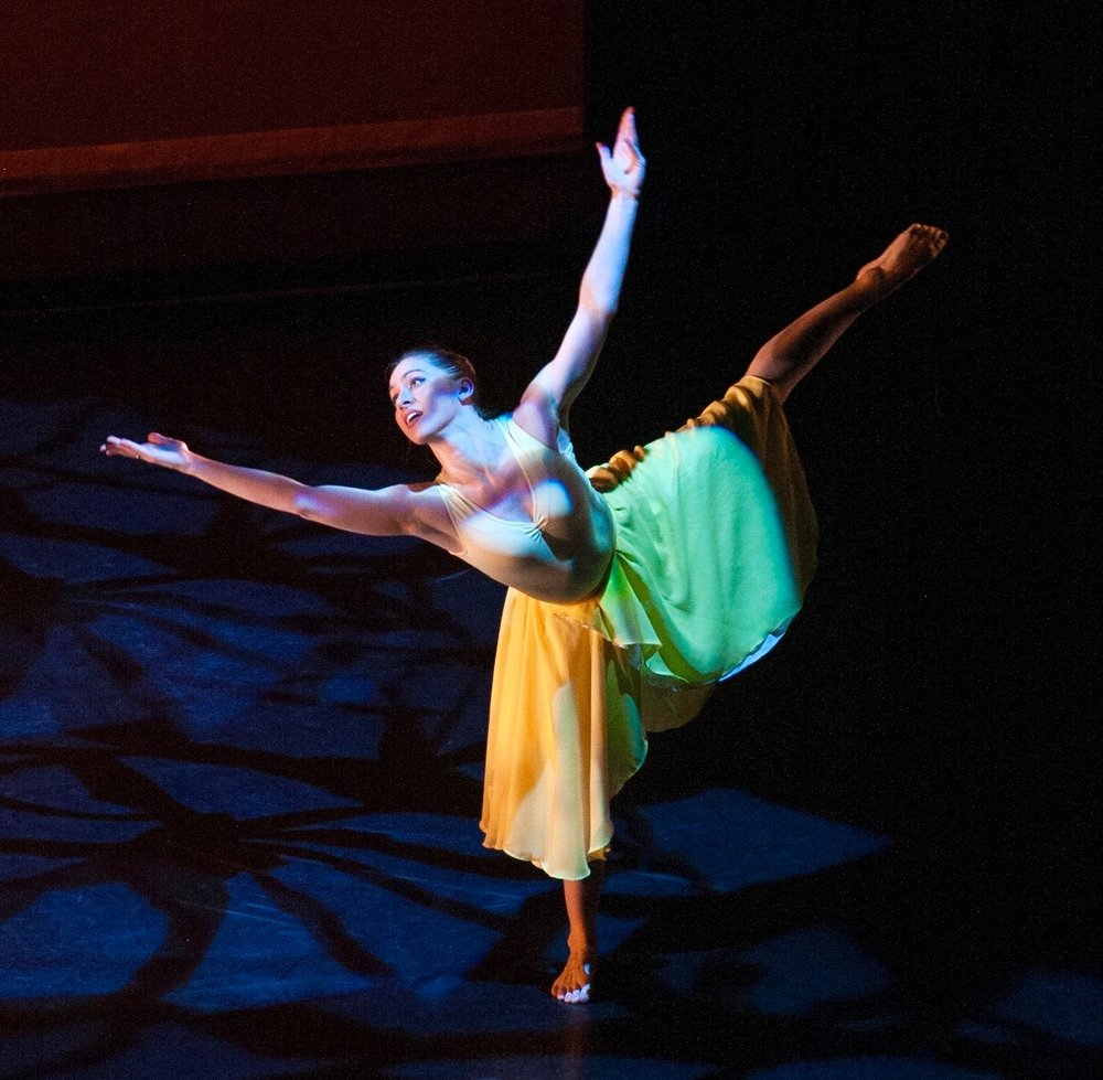 Maddie in  Stems,  Born Dancing, March 2016 at Alvin Ailey Citigroup Theater  (Photo: Nicolle Bennett)
