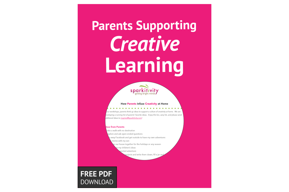Free Download: Parents Supporting Creative Learning