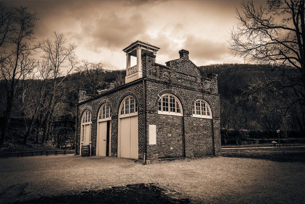 John Brown's Fort (The Old Fire House), Harper's Ferry, WV by Noel Benadom via Flickr