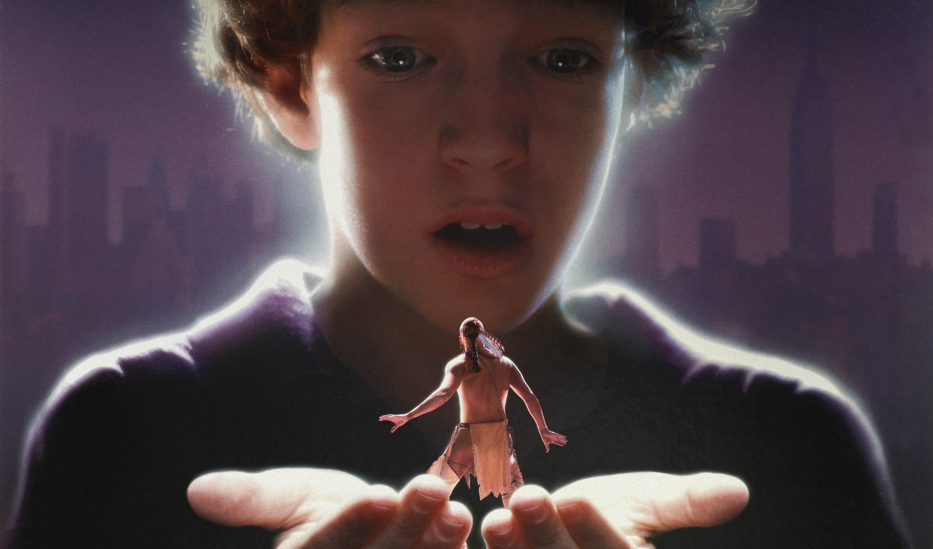 Film poster image from The Indian in the Cupboard 1995 film directed by Frank Oz