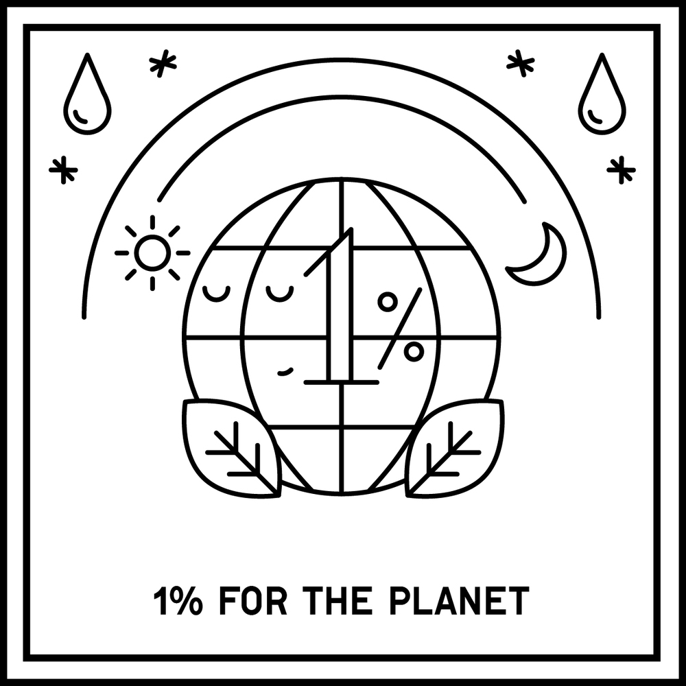 A commitment made by businesses to donate at least 1% of all profits to environmental causes. RA Partners, Patagonia, New Outlook Financial.