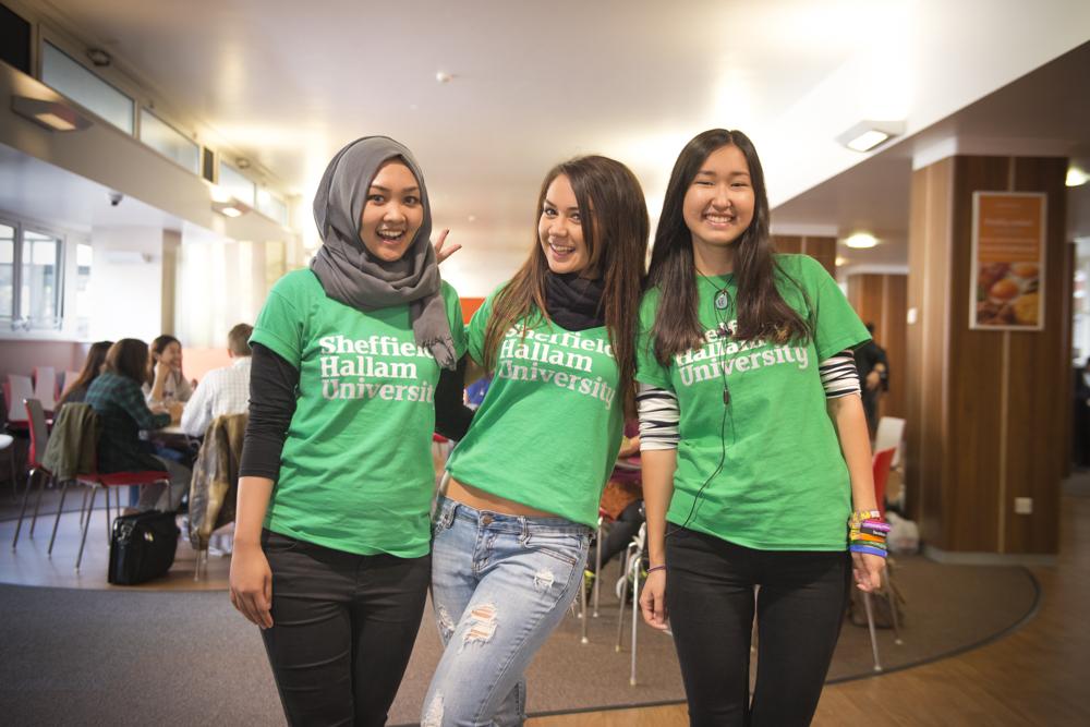 Sheffield Hallam University Freshers Week for Amazon Student UK - 2015
