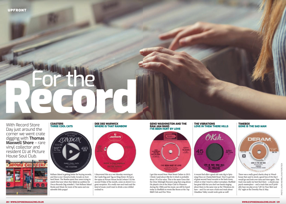 For The Record - Exposed Magazine - April 2019