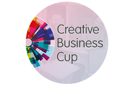 creative business cup logo