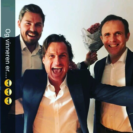 Gründer av BikeFinder, Ole Martin Ølmheim, investor Petter A. Stordalen, og investor og styreleder Leif André Skare. Sistnevnte sitter også som styreleder i Innovation Dock.