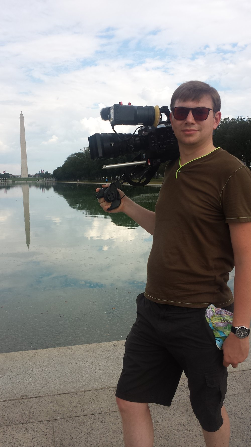 Filming In Washington DC