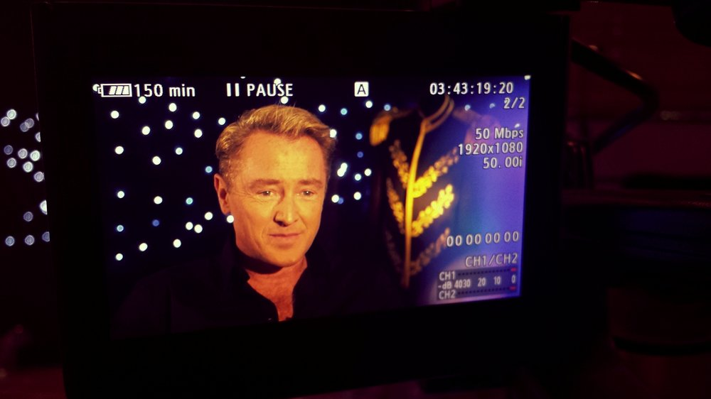 Shooting/Lighting/Designing Pre-Interview with Michael Flatley