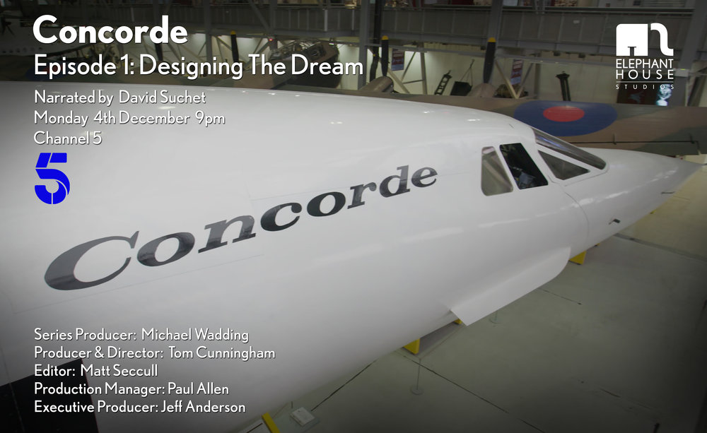 CONCORDE: DESIGNING THE DREAM