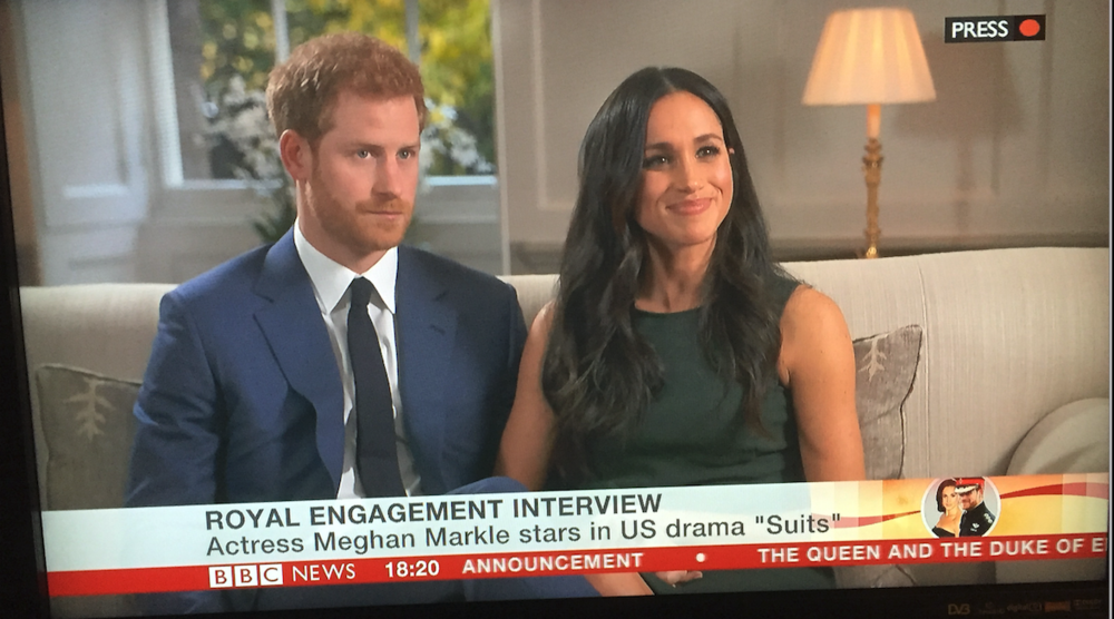 The Royal Engagement Shoot