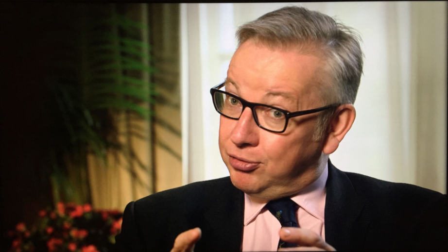 Michael Gove - For Piers Morgan's Life Stories