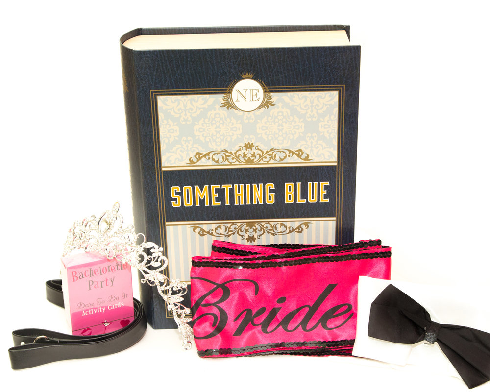 Something Blue Bachelorette Party Gift Set $35