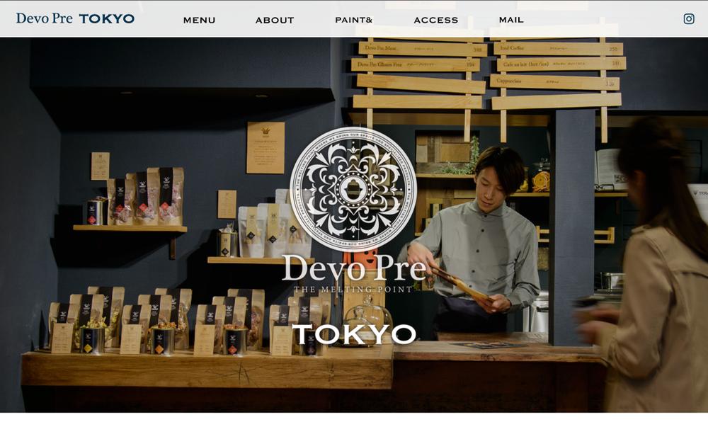 Devo Pre TOKYO / HP