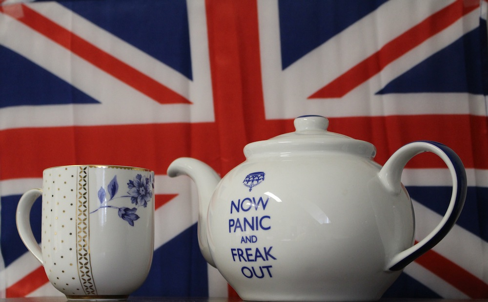 """Brexit tea""  by  frankieleon  is licenced under  CC BY 2.0"