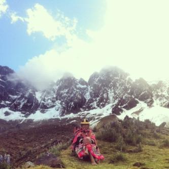 DONA BERNA, HOLY MOUNTAIN UMANTAY, PERU