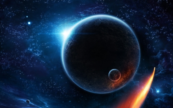sun_outer_space_stars_planets_moon_earth_fantasy_art_artwork_shooting_star_Wallpaper HD_1440x900_www.paperhi.com.jpg