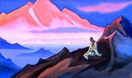 Painting by Nicholas Roerich