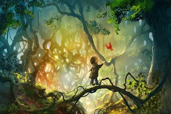 fantasy-art-forest-child-bird-fairy-tale-4-Sizes-Home-Decoration-Canvas-Poster-Print.jpg