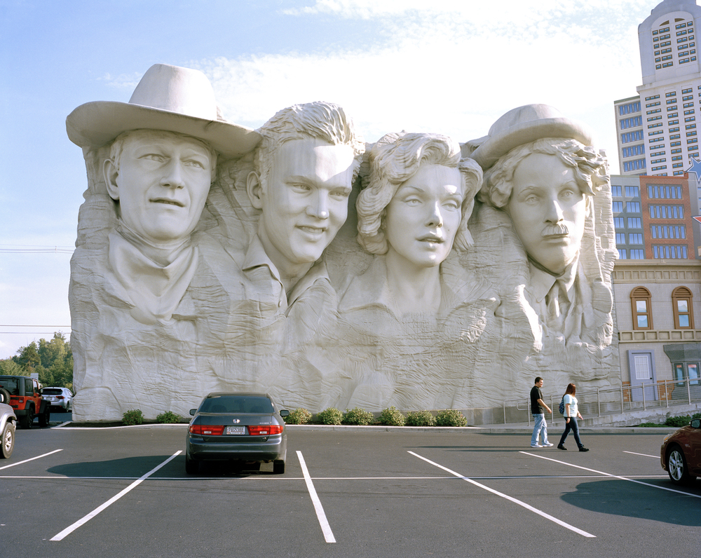 Mount Rushmore. Pigeon Forge, Tennessee.