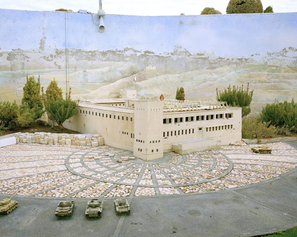 Israeli Armed Corps Memorial. Latrun, Isreal.