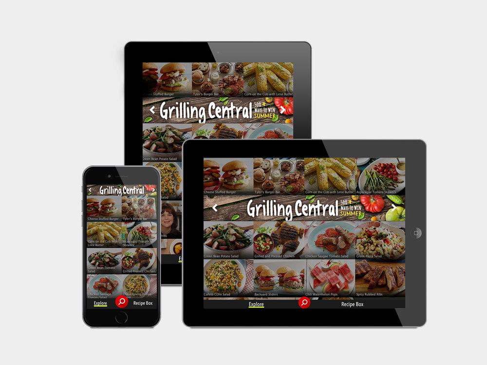 Food Network Grilling Central Vyork Design