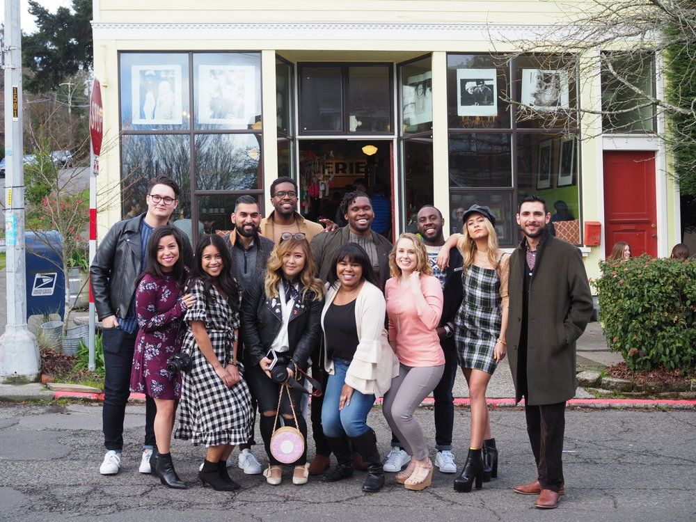 Influencers from left to right: Daniel Mendoza, Alix Hernandez, Emma Cortes, Avi Soor, Antonio Smith, Crystal Reed, Endurance Nweke, Asa Herman, Amanda Winters, Anthony Ukaogo, Jorden Jakobs, & Hector Diaz