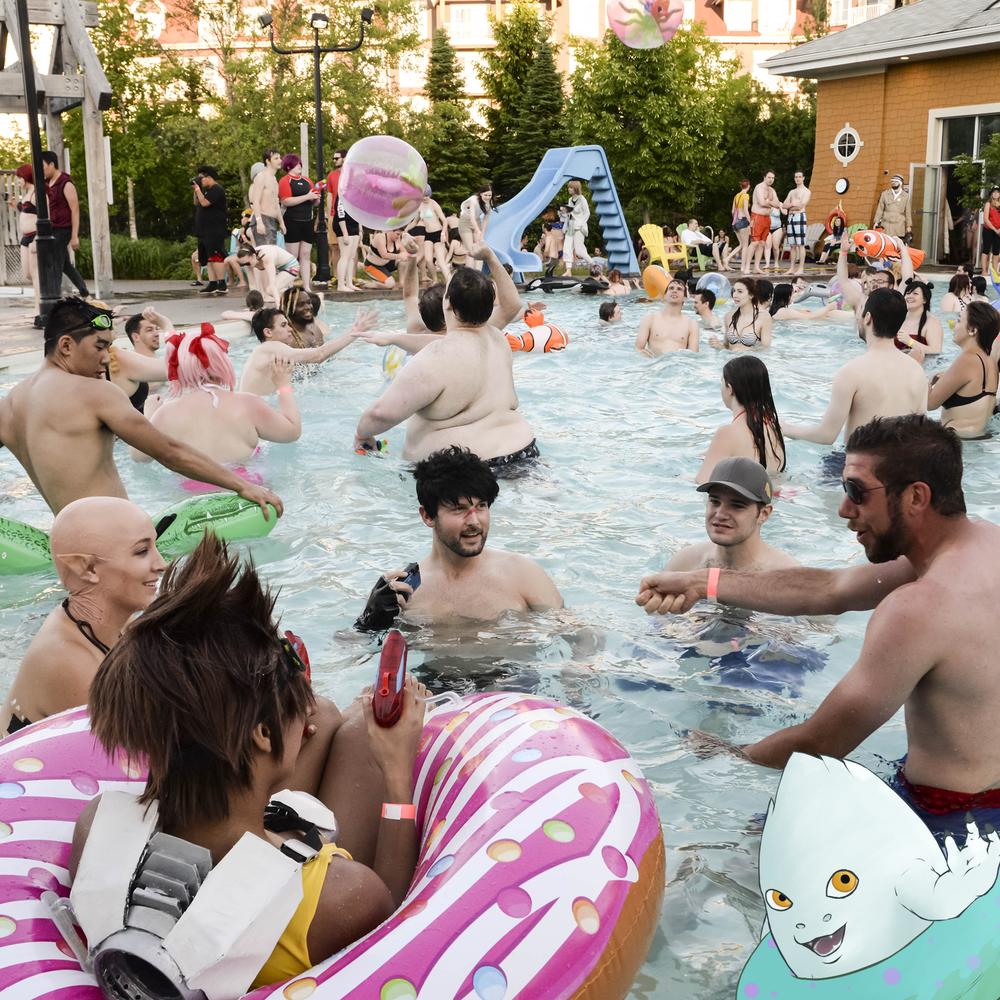 Pool Parties!