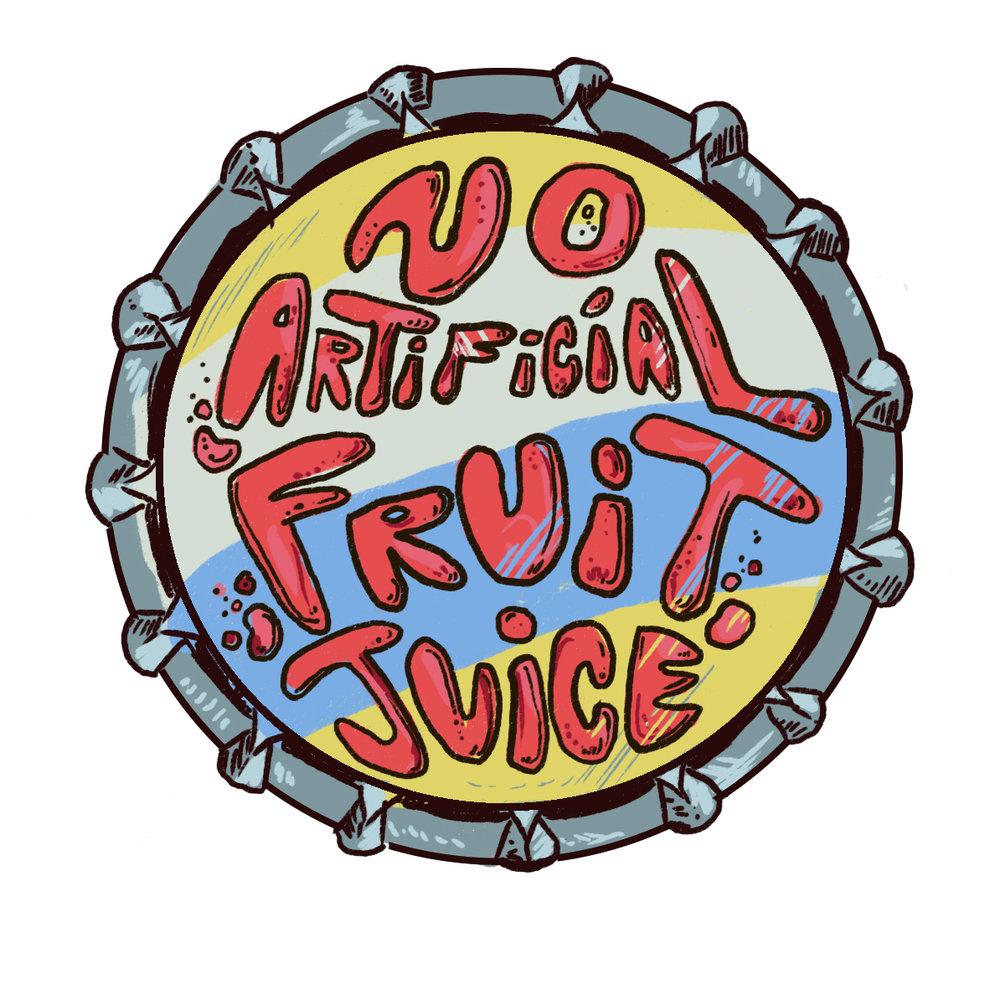 No Artificial Fruit Juice